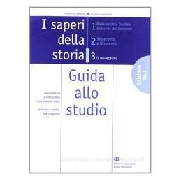 SAPERI DELLA STORIA  3 (ED.BLU) +GUIDA