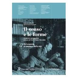 SENSO E LE FORME 4  LEOPARDI ROMANZO CRI