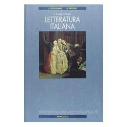 LETTERATURA ITALIANA (ED.CARTONATA)