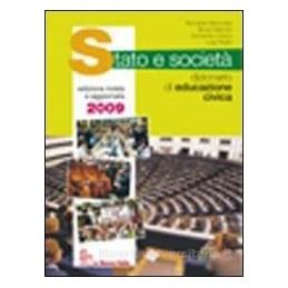 STATO E SOCIETA`  DIZ.EDUC.CIVICA +CDROM