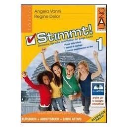 STIMMT! 1 +ARBEITSBUCH +LIBRO ATTIVO