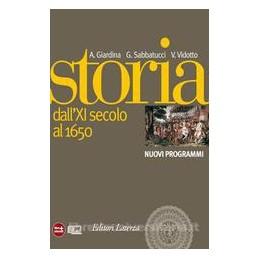 STORIA 1  XI SECOLO 1650