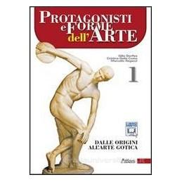 PROTAGONISTI E FORME DELL`ARTE 1
