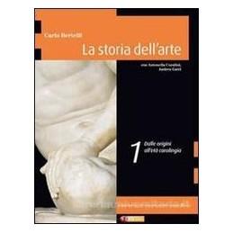 STORIA DELL`ARTE 1  ORIG. ETA`CAROLINGIA