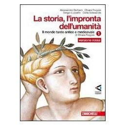 STORIA L`IMPRONTA DELL`UMANITA`1 (ROSSA)