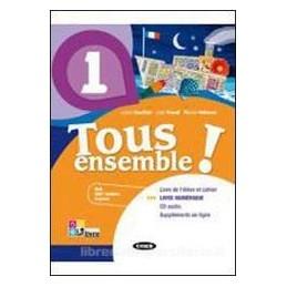 TOUS ENSEMBLE! 1 +CD +LIVRE NUMERIQUE 1