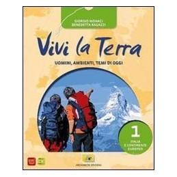 VIVI LA TERRA 1 +CARTE +ATLANTE +REGIONI