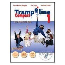 TRAMPOLINE COMPACT 3, LIVRE ET CAHIER+CD