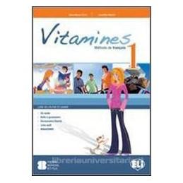 VITAMINES 1 +CAHIER +CD +3 ALLEGATI