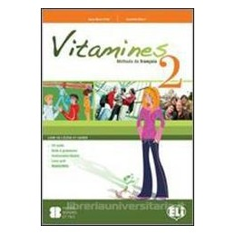 VITAMINES 2 +CAHIER +CD +MAGAZ.+L.ACTIF