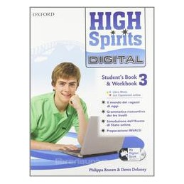 HIGH SPIRITS DIGITAL 3 +MY DIGITAL BOOK