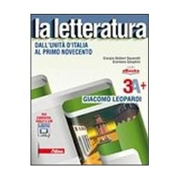 letteratura-la-3a--leopardi-dallunita-ditalia-al-primo-novecento-vol-3