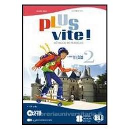 PLUS VITE! 2 +CD +LIVRE ACTIF +MAGAZINES
