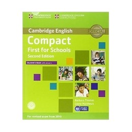 COMPACT-FIRST-FOR-SCHOOLS--2ND-EDITION-STUDENTS-BOOK-WITH-ANSWERS-WITH-ROM