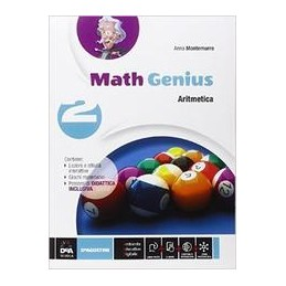 math-genius--aritmetica-2--geometria-2--ebook-anche-su-dvd--palestra-delle-competenze-2-vol-2
