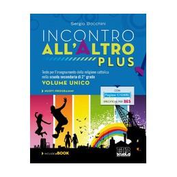 incontro-allaltro-plus--libro-digitale--dvd-volume-unico-vol-u