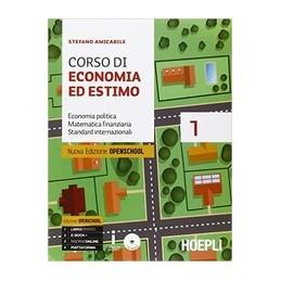 corso-di-economia-ed-estimo-nuova-edizione-openschool-volume-1--volume-2-vol-u