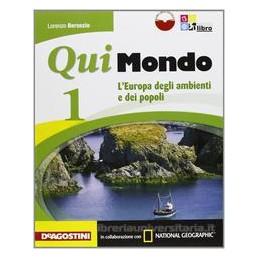 QUI MONDO 1 +LIBRO DIGIT.+DOSSIER+REGION