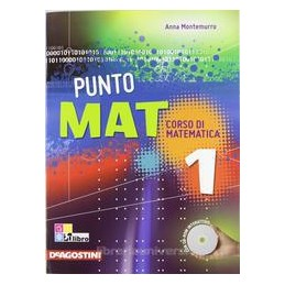 PUNTO MAT 1 +CD ROM +LAB. INVALSI 1 +EB.