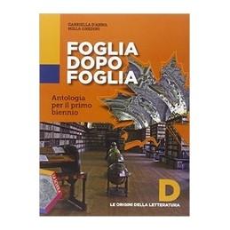 foglia-dopo-foglia-d--le-origini-della-letteratura--dvd-vol-u