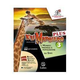 kilimangiaro-plus-vol-3-con-dvd-e-atlante-3tavolemi-prep-int-il-mondo-paesaggi-e-popolazione-g