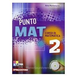 PUNTO MAT 2 +CD ROM +LAB. INVALSI 2 +EB.