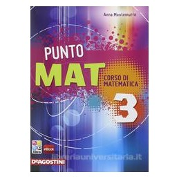 PUNTO MAT 3 +CD ROM +LAB. INVALSI 3 +EB.