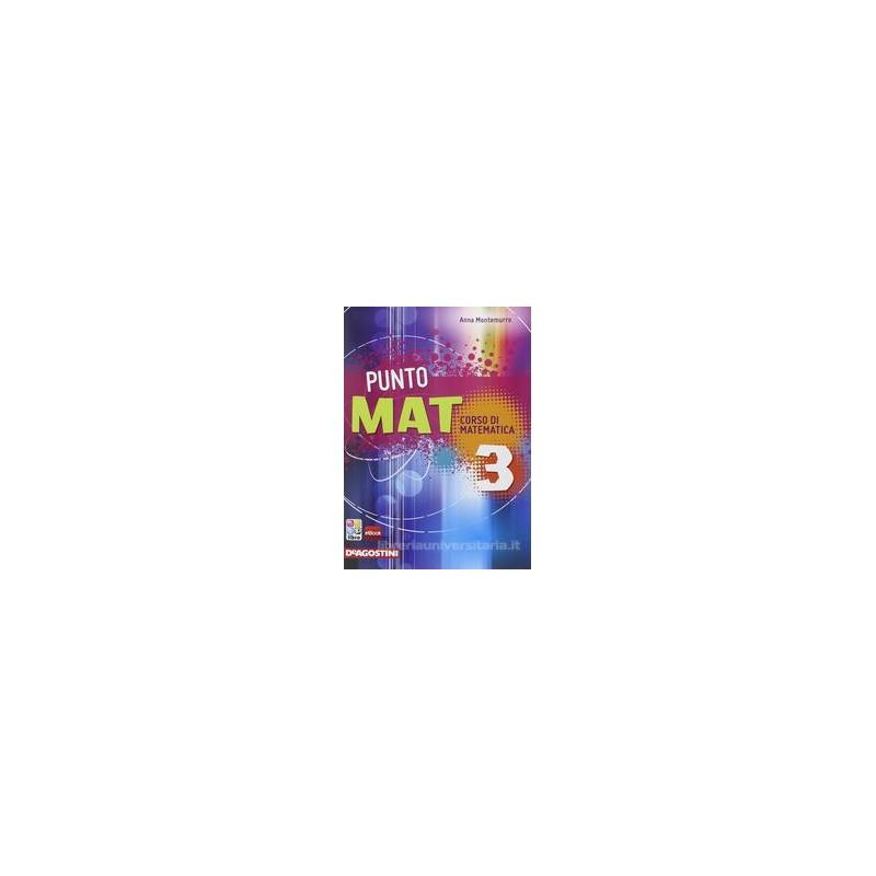 PUNTO MAT 3 +CD ROM +LAB. INVALSI 3 +EB.