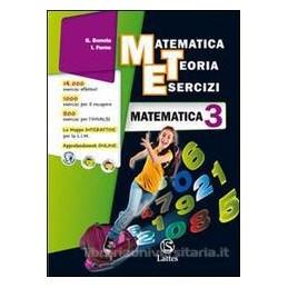 MET  MATEMATICA 3+QUAD.INVALSI 3