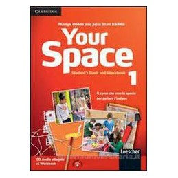 YOUR SPACE 1 STUDENT`S PACK +2 CD