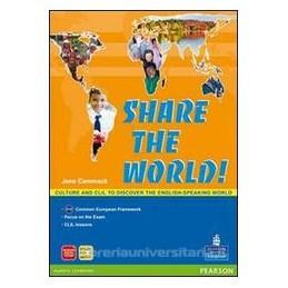 SHARE THE WORLD! +CD
