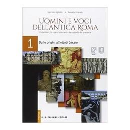 uomini-e-voci-dellantica-roma-dalle-origini-alleta-di-cesare-vol-1