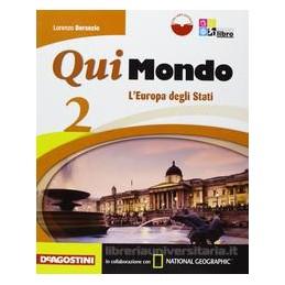 QUI MONDO 2 +LIBRO DIGITALE