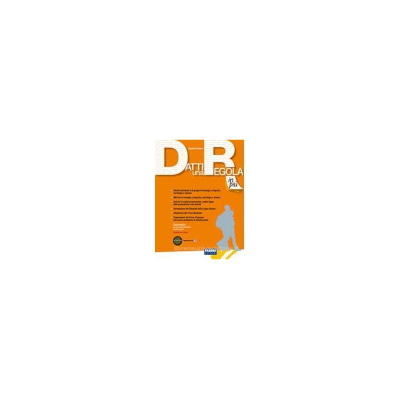 DATTI UNA REGOLA COMPATTA (3 TOMI) +CD R