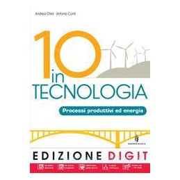 10 IN TECNOLOGIA (4 TOMI) +DVD ME BOOK