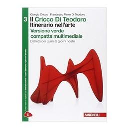 cricco-di-teodoro-il---vol--3-compatto-vers--verde-multimediale-ldm-itinerario-nellarte-3ed-da