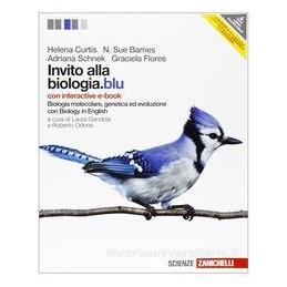 INVITO ALLA BIOLOGIA BLU MOLECOLARE+EBOO