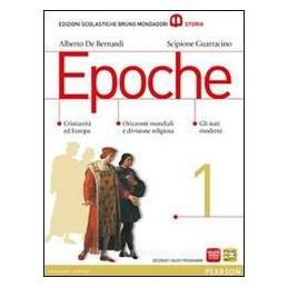 EPOCHE 1  CRISTIANITÀ ED EUROPA +ATLANTE
