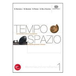 TEMPO SPAZIO 1 +CD ROM REGIONI ITALIANE