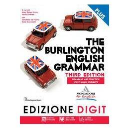 BURLINGTON ENGLISH GRAMMAR +FASC.+DVD