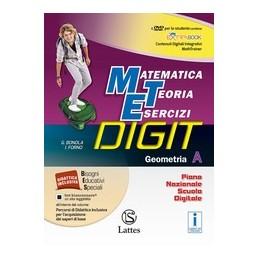 matematica-teoria-esercizi--digit-geometria-a-con-dvd-vol-1