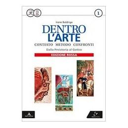 dentro-larte-edizione-rossa-volume-1--dalla-preistoria-al-gotico--atlante-vol-1