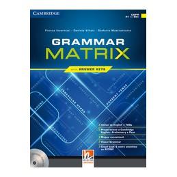 grammar-matrix-grammar-matrix-con-cdromaudio-cd--ansers-keys-vol-u