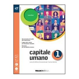 capitale-umano-classe-1--libro-misto-con-openbook-volume--extrakit--openbook-vol-1