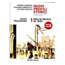 NUOVI PROFILI STORICI  1  XI SEC 1650