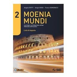 moenia-mundi-2-cultura-e-letteratura-latina--percorsi-antologici-vol-2