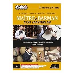 maitre-e-barman-con-masterlab-volume-unico--2-biennio-e-5-anno-vol-u