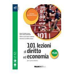 101-lezioni-di-diritto-ed-economia-plus--libro-misto-con-openbook-volume--extrakit--openbook-vol