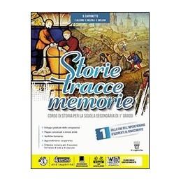 storie-tracce-memorie-1--dvd-libro-digitale-corso-di-storia-per-la-scuola-secondaria-di-i-grado-vol