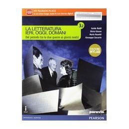 letteratura-ieri-oggi-domani-32-edizione-mylab--vol-3